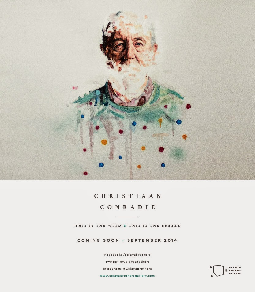 Presenta Celaya Bros. Gallery la exposición individual de Christiaan Conradie en Septiembre
