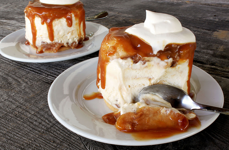 Mimi's Kitchen: Caramel Apple Cream Cheese Mousse