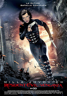 Resident Evil 5: La Venganza Poster