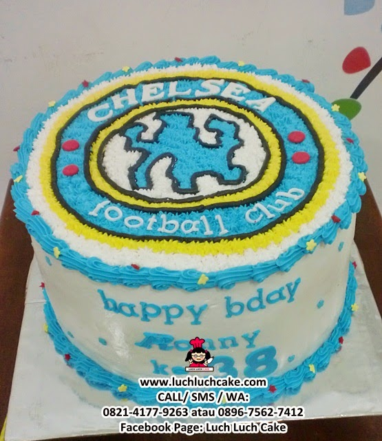 Kue Tart Football Club Chelsea (REPEAT ORDER)