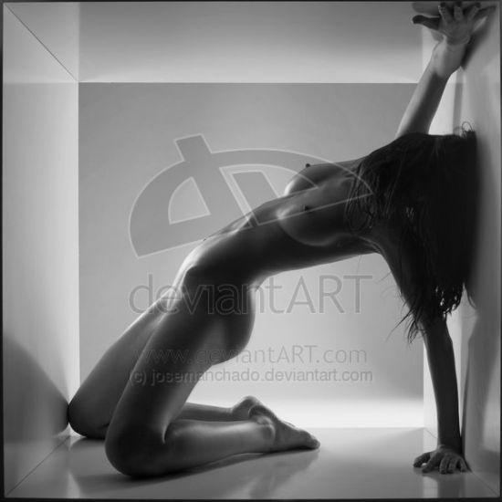 Jose Manchado deviantart fotografia sensual preto e branco cubo fetiche
