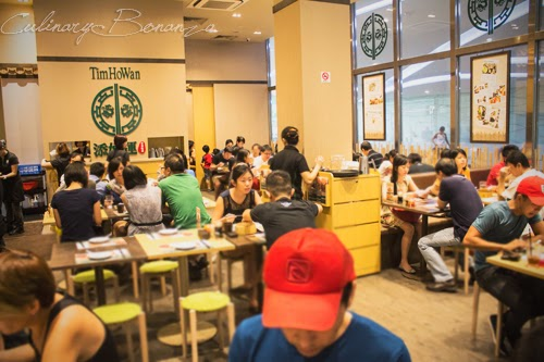 Inside Tim Ho Wan Plaza Singapura in Singapore