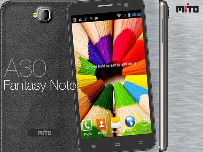 hp android murah mito berkualitas fantasy note a30 layar lebar 6 inci