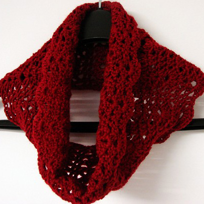 DIY: Circle/Infiinity Scarf (Beginner's version) Crochet Tutorial