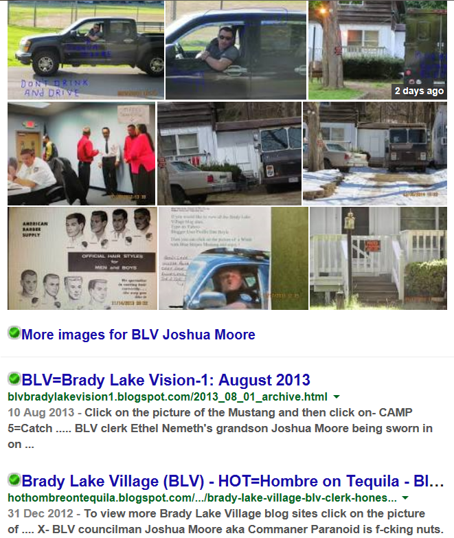 X-Brady Lake Village councilman Joshua Moore is internet infamous !