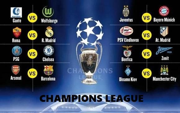 Octavos Champions League 2015-2016. Calendario - Liga Española 2018 ...