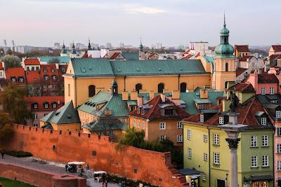 Варшава. Новый старый город
