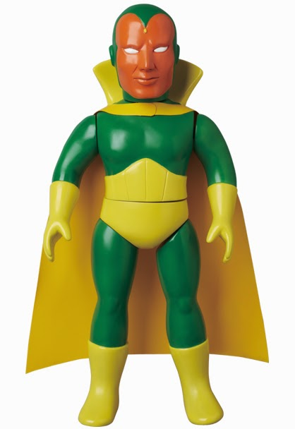 Marvel Retro Sofubi Collection Wave 3 Vinyl Figures by Medicom - The Vision