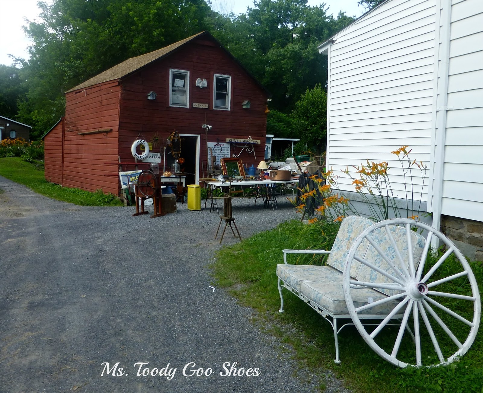 Woodstock, NY Catskill Mountains by Ms. Toody Goo Shoes