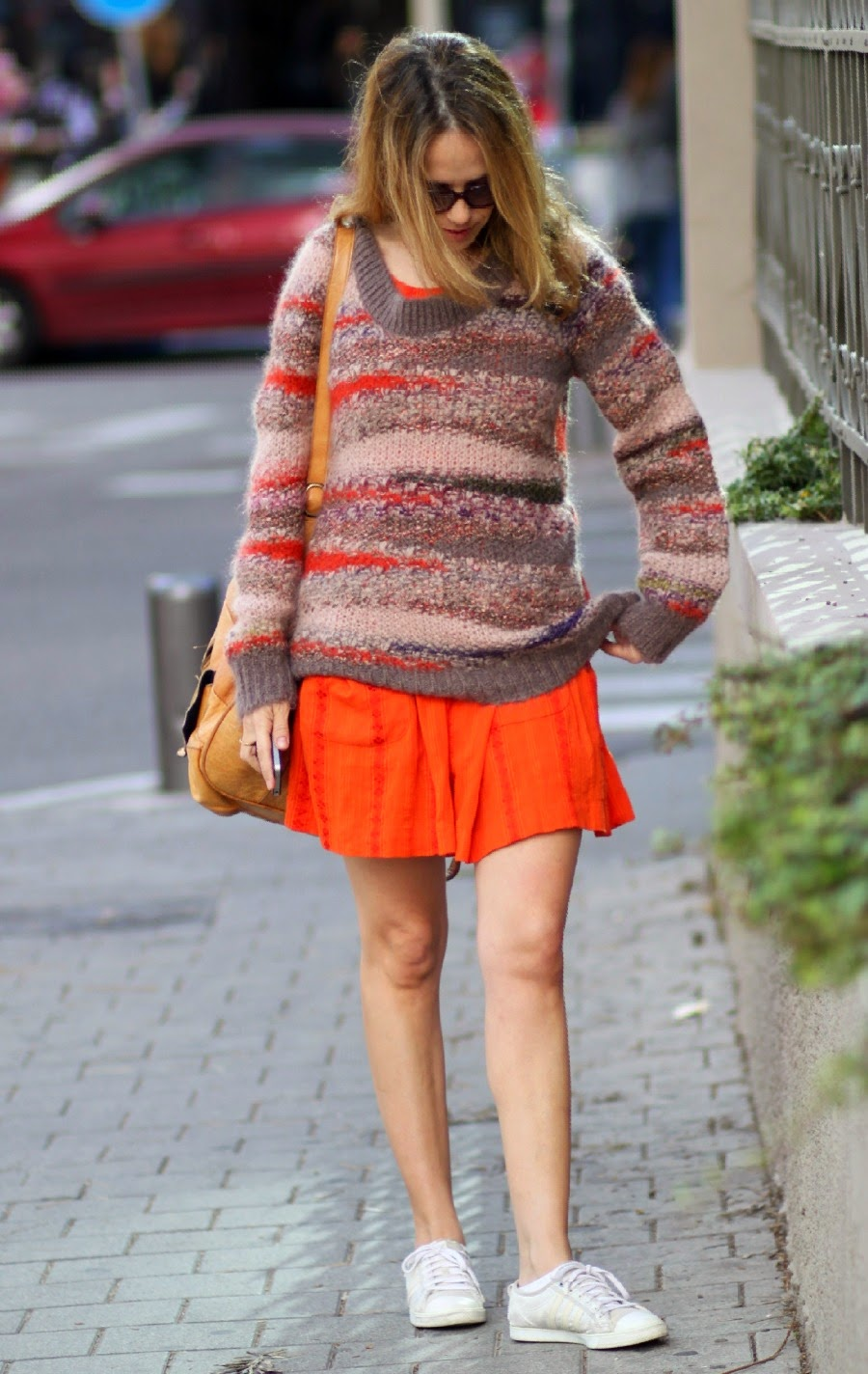 orange, dress, fashionchallenge,lookoftheday, layeringlook, spring2015,streetstyle,telavivfashion,fashionblog,אופנה,בלוגאופנה, vanessabruno
