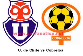 U de Chile vs Cobreloa Jornada 9 Campeonato 2013