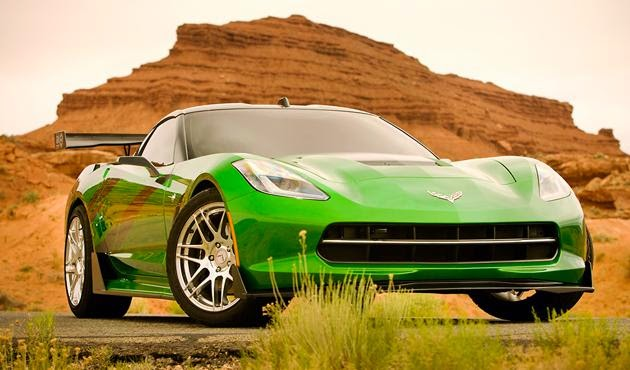 Foto C7 Corvette Stingray Mobil Keren Autobots Transformers 4 Age of Extinction