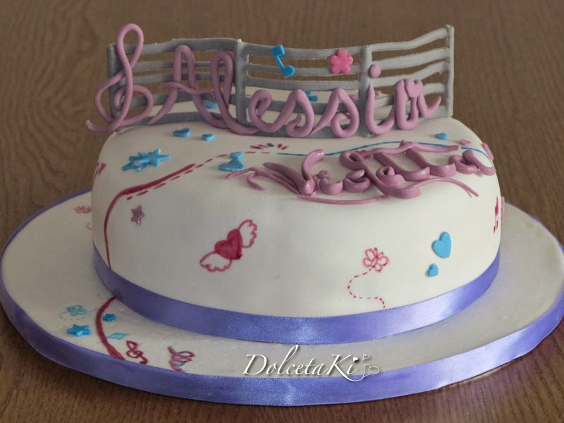torta violetta telefilm