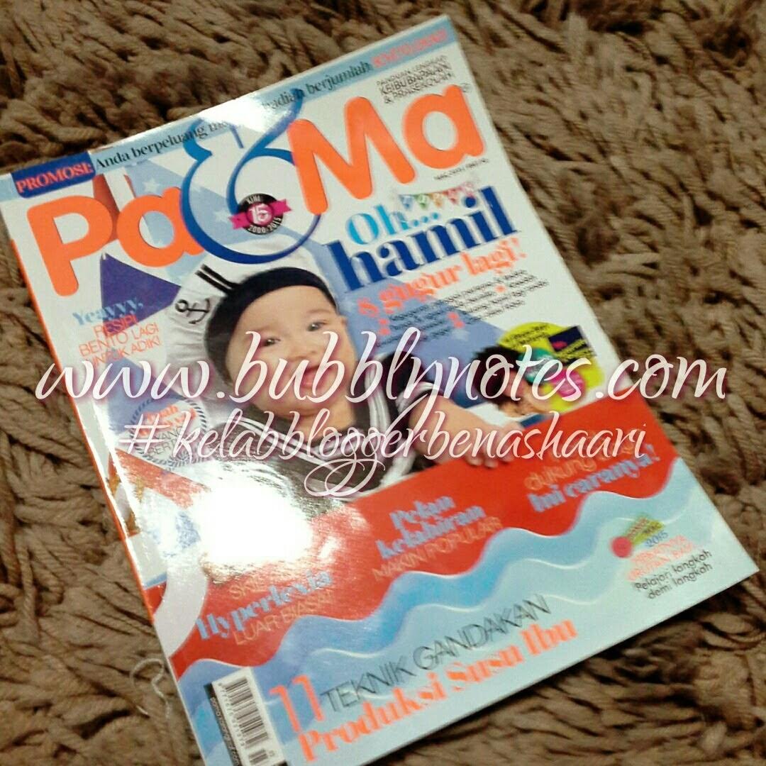 Featured On: Majalah Pa & Ma March 2015