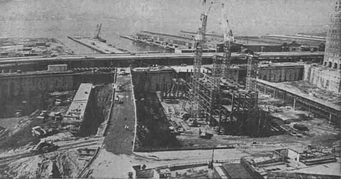 Construction Of The World Trade Center Vintage Everyday
