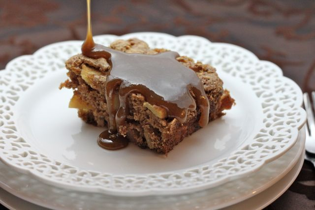 Simply Cooked: apple cake (whole grain baking)