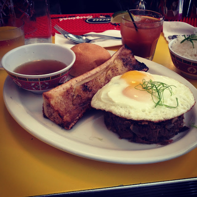 Bulalo hash at Jeepney in the East Village, New York