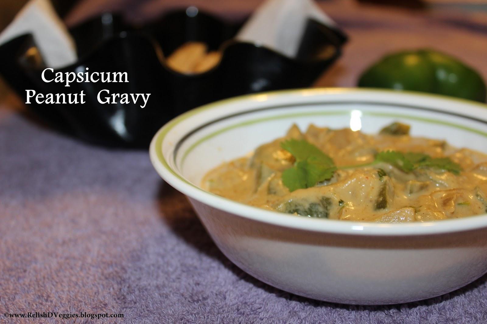 how to make capsicum relish