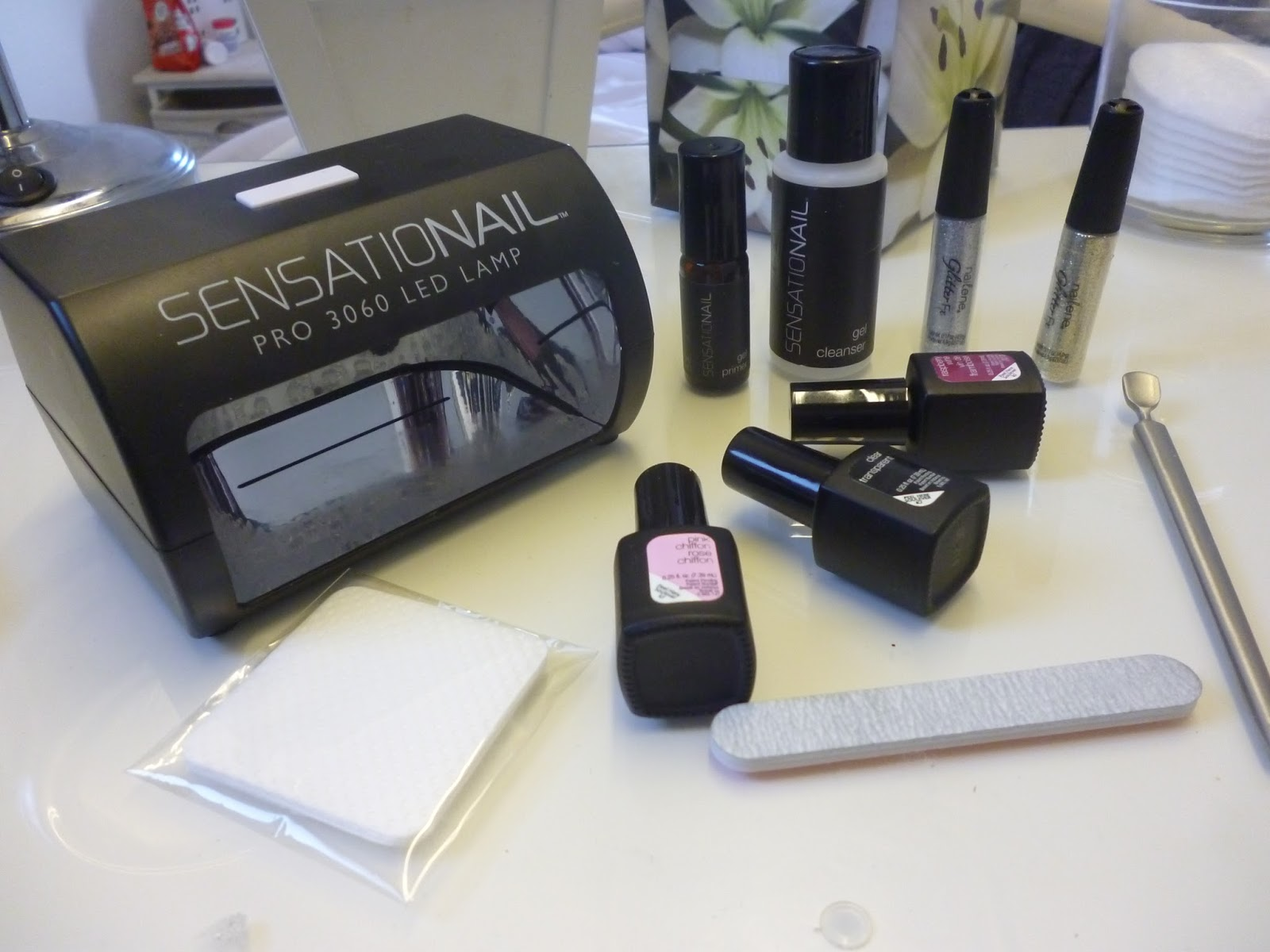 Sensationail Gel Nail Kit Review, swatches, manicure