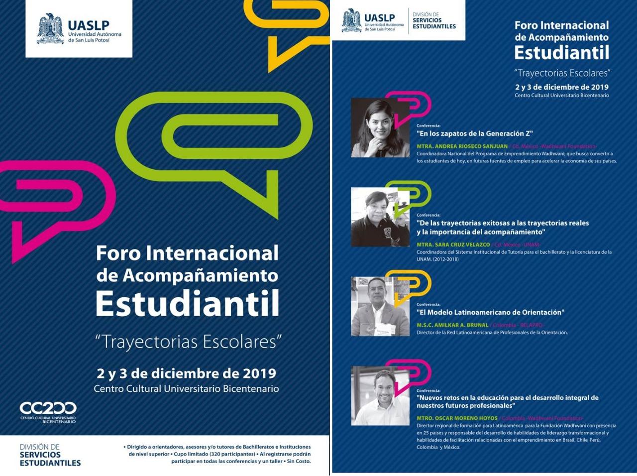 Foro Internacional de Acompañamiento Estudiantil