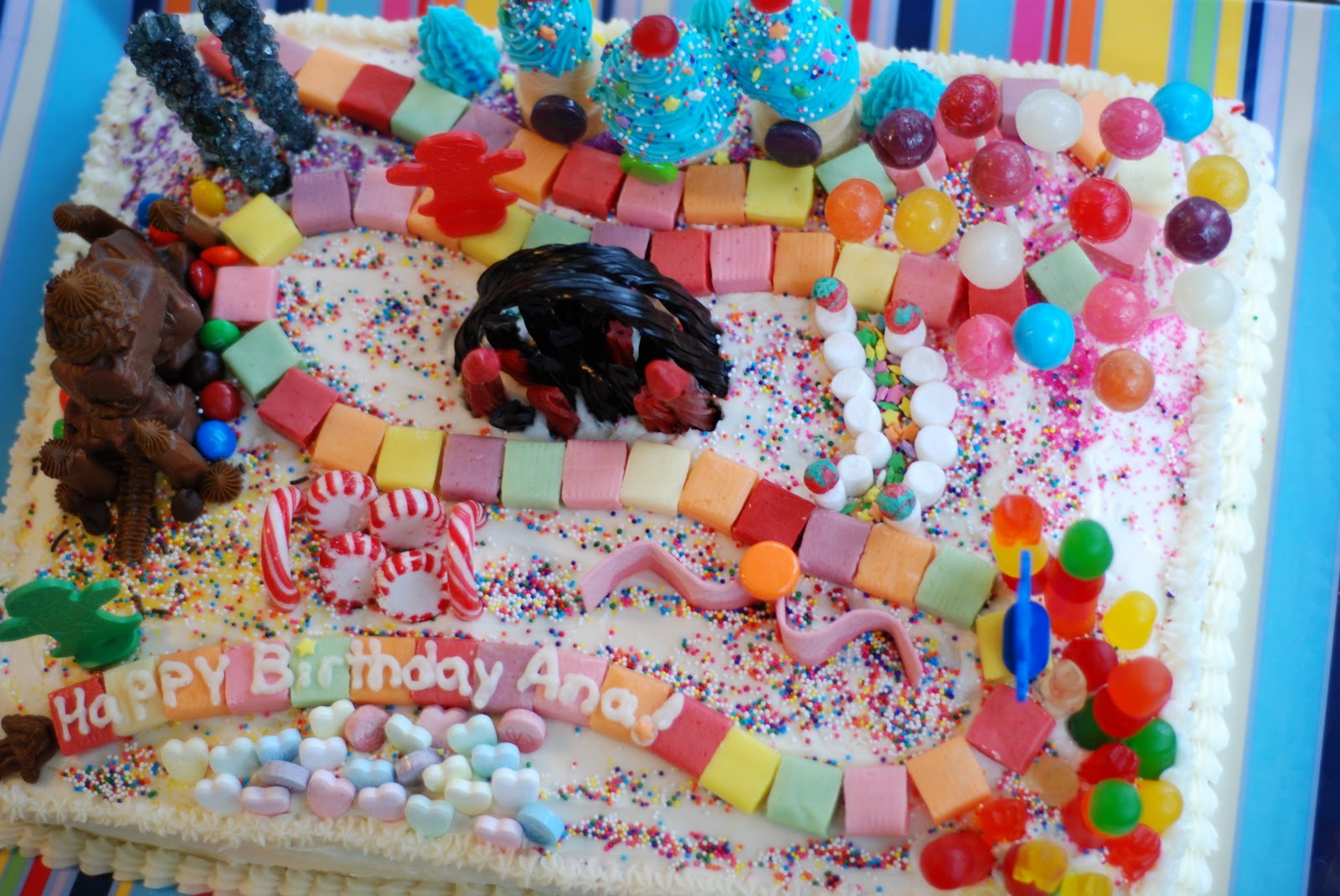 Candyland Party Ideas Part - 24: Candyland Birthday Party