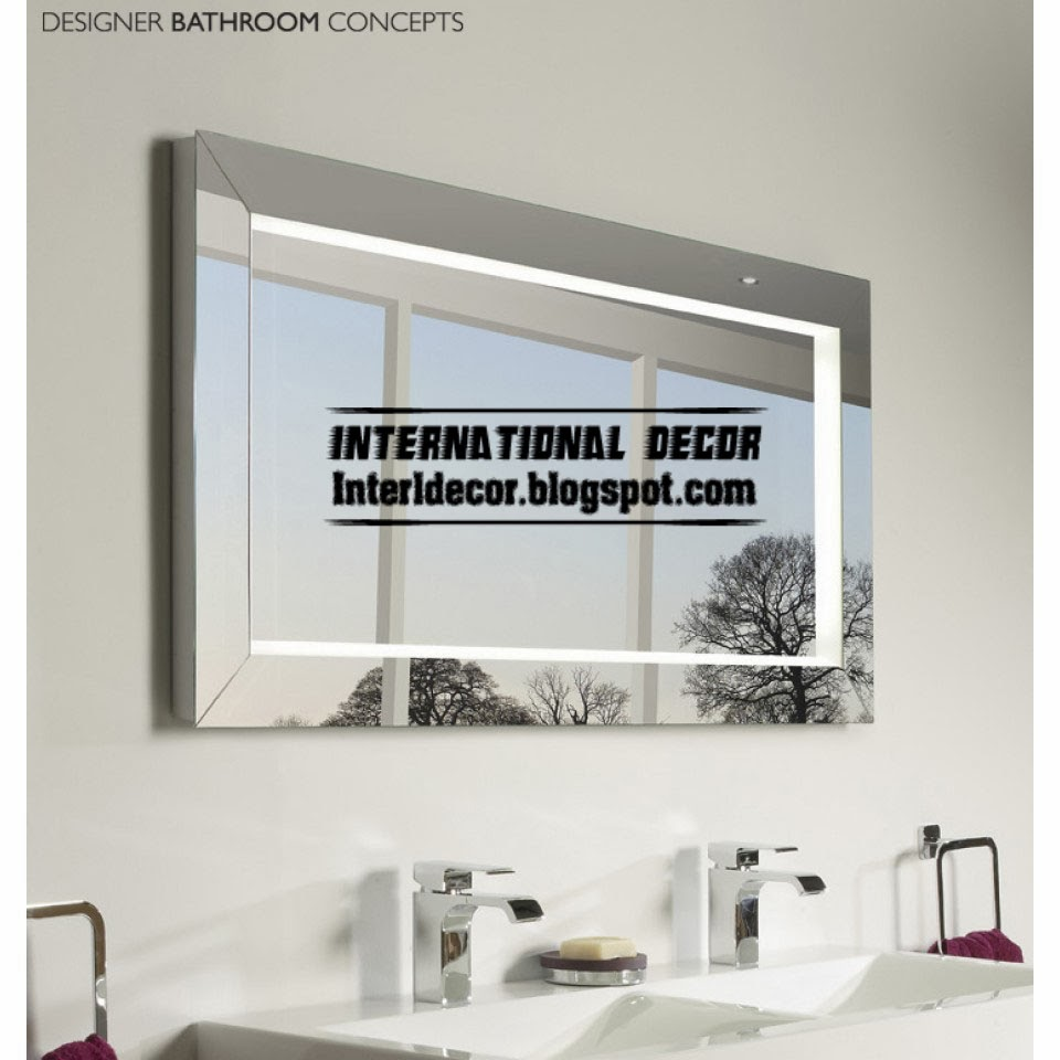 illuminated bathroom mirror, choosing bathroom mirrors