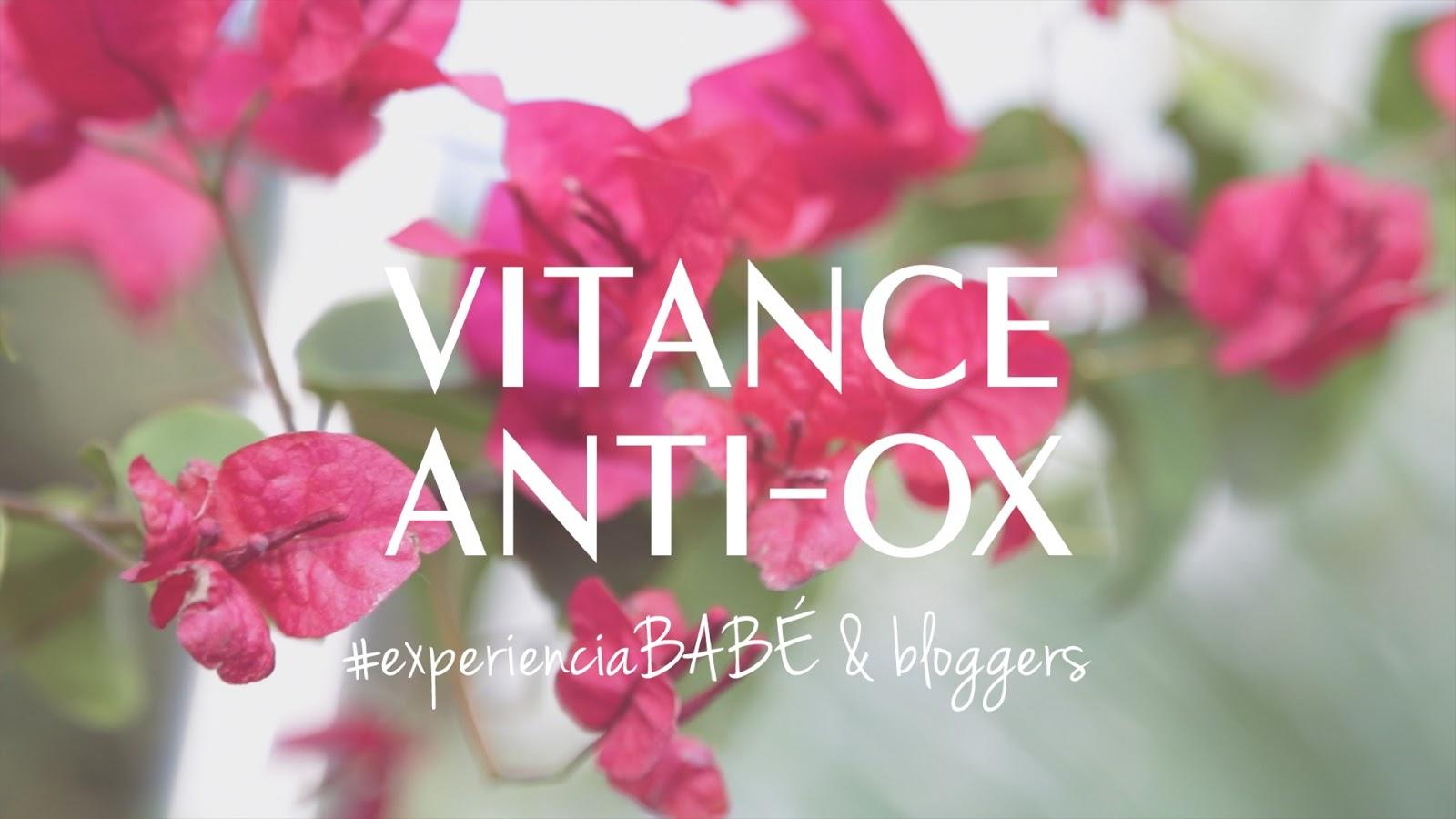 VITANCE ANTI-OX Laboratorios Babé skincare