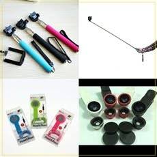 Monopod, Shutter and Lens for your phone!