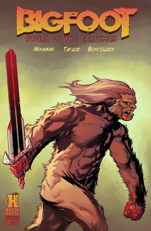 Bigfoot Issue #6 Preview!