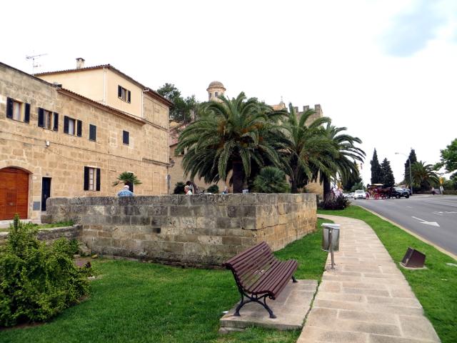 Old town Alcúdia Mallorca Alcudian vanha kaupunki