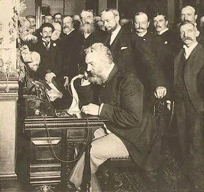 La primera llamada de teléfono
