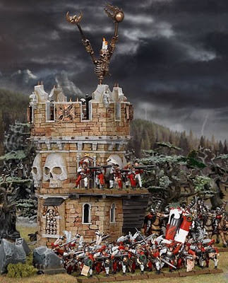 Death Knell Watch Tower by Games Workshop