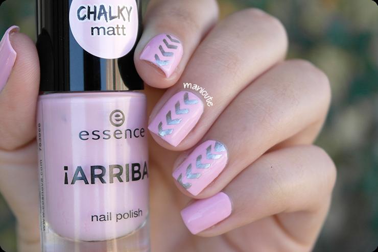 nail mail stencils vinyls essence chalky matt hola guapa