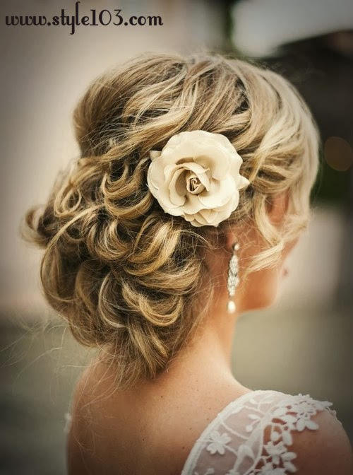 Bridal Wedding Juda Hairstyle