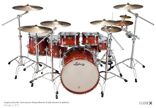 Ludwig Drum Set - Legacy Exotic Series