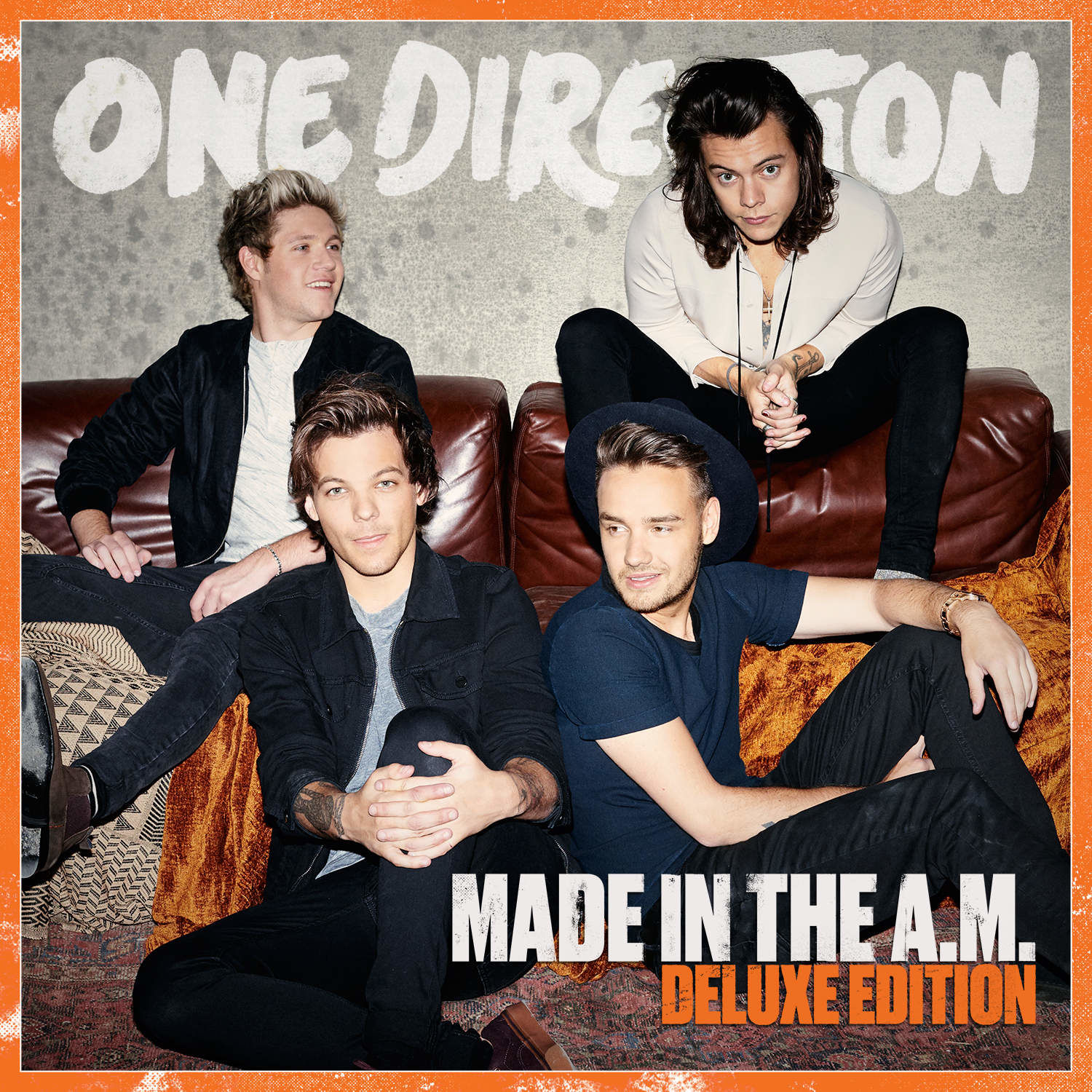 one direction, 1d, made in the am, cover, deluxe edition, harry styles, liam payne, louis tomlinson, niall horan, fifth album, midam