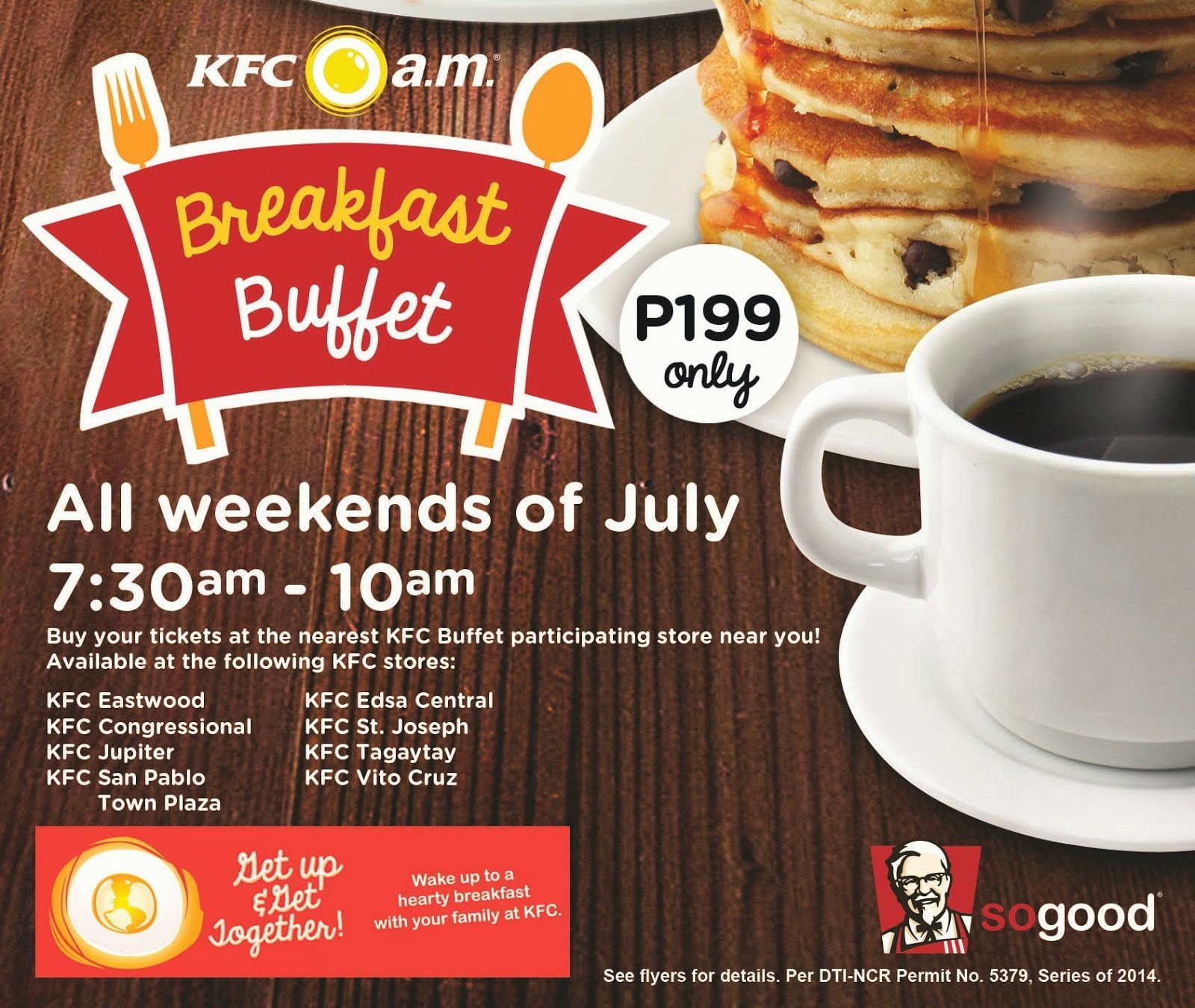KFC's breakfast buffet is back! | Food and Leisure, Lifestyle ...
