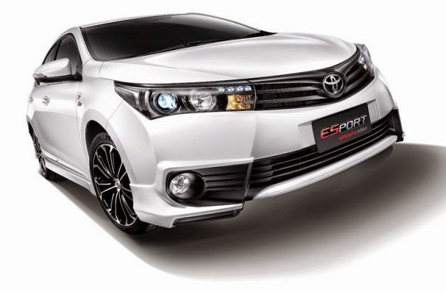 Toyota Altis Nurburgring Edition Glide in Thailand