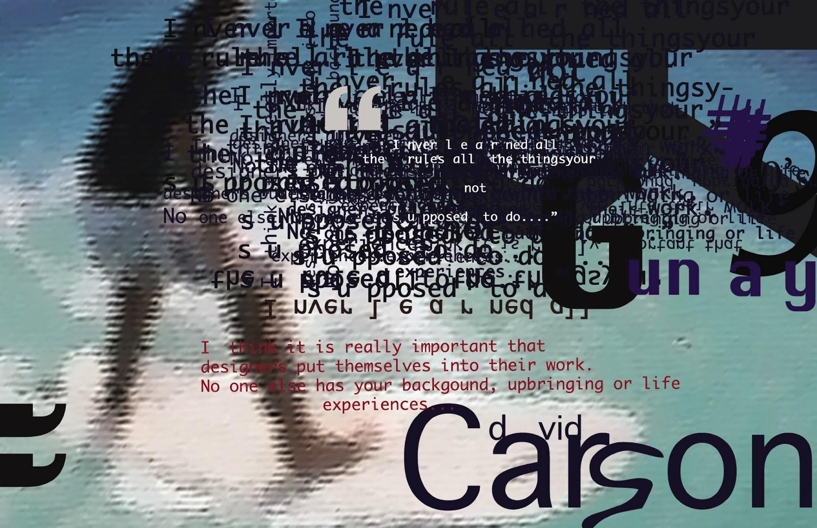 david carson typography - photo #13