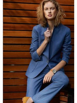 moda mujer primavera Massimo Dutti traje