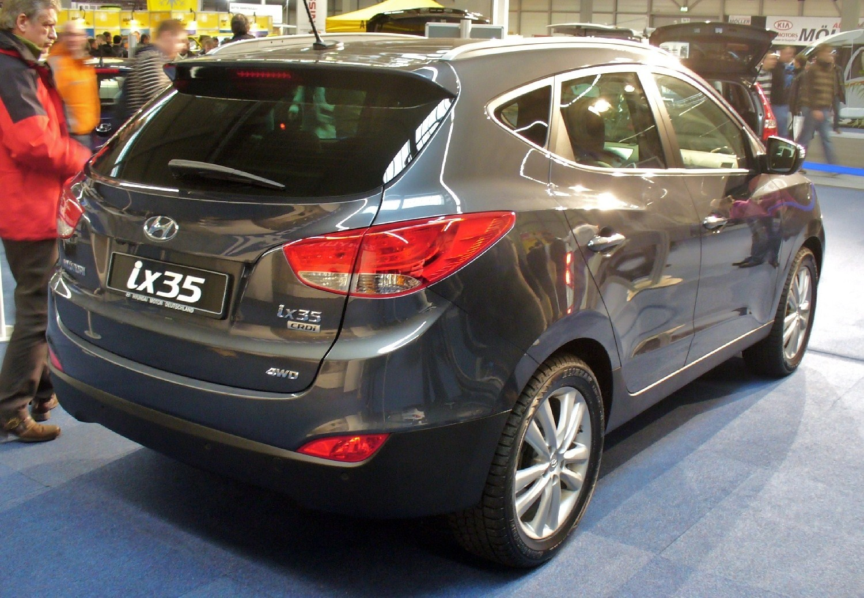 Hyundai ix35 Heck AME Hyundai ix35 2013   Fotos e Preços