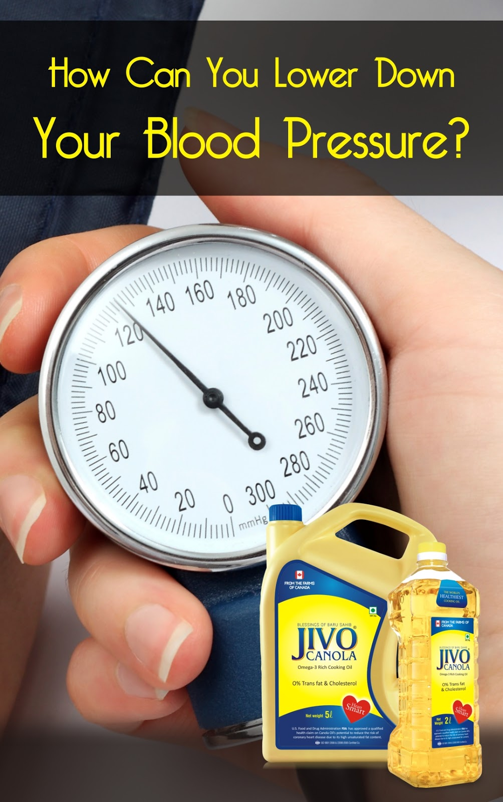 Canola oil in india how can you lower down your blood for Does fish oil lower blood pressure
