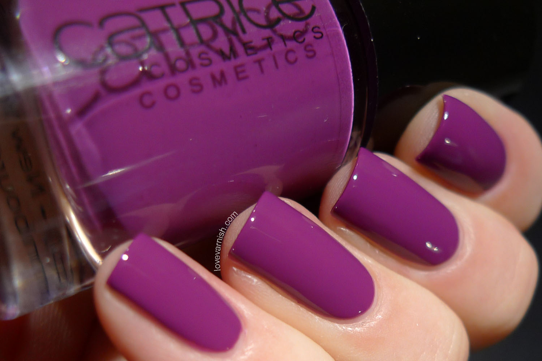 Catrice Inner Purple Of Trust purple nail polish 2014 release