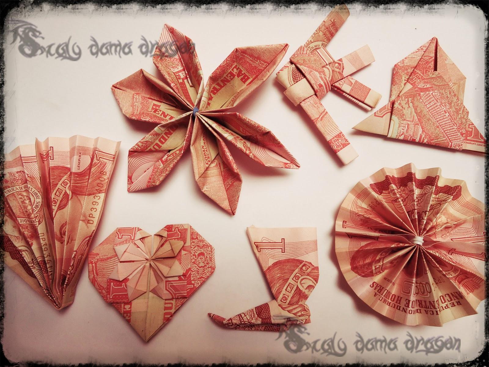 origami en billetes de lempira origami modular mil