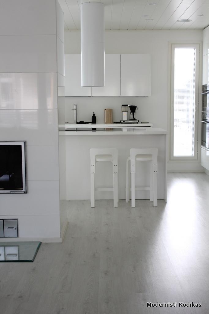 Modernisti Kodikas Asuntomessut 2014 Kurkistus Deko159 talon sisustukseen