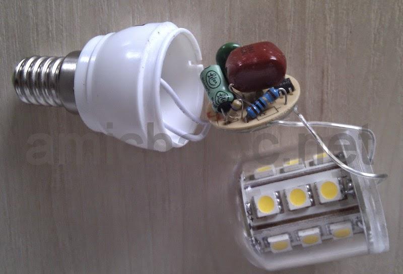 rangkaian lampu led sederhana 3