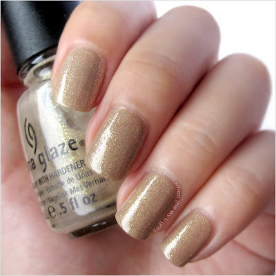China Glaze Fast Track Nail Polish Swatch & Review - Hunger Games Collection