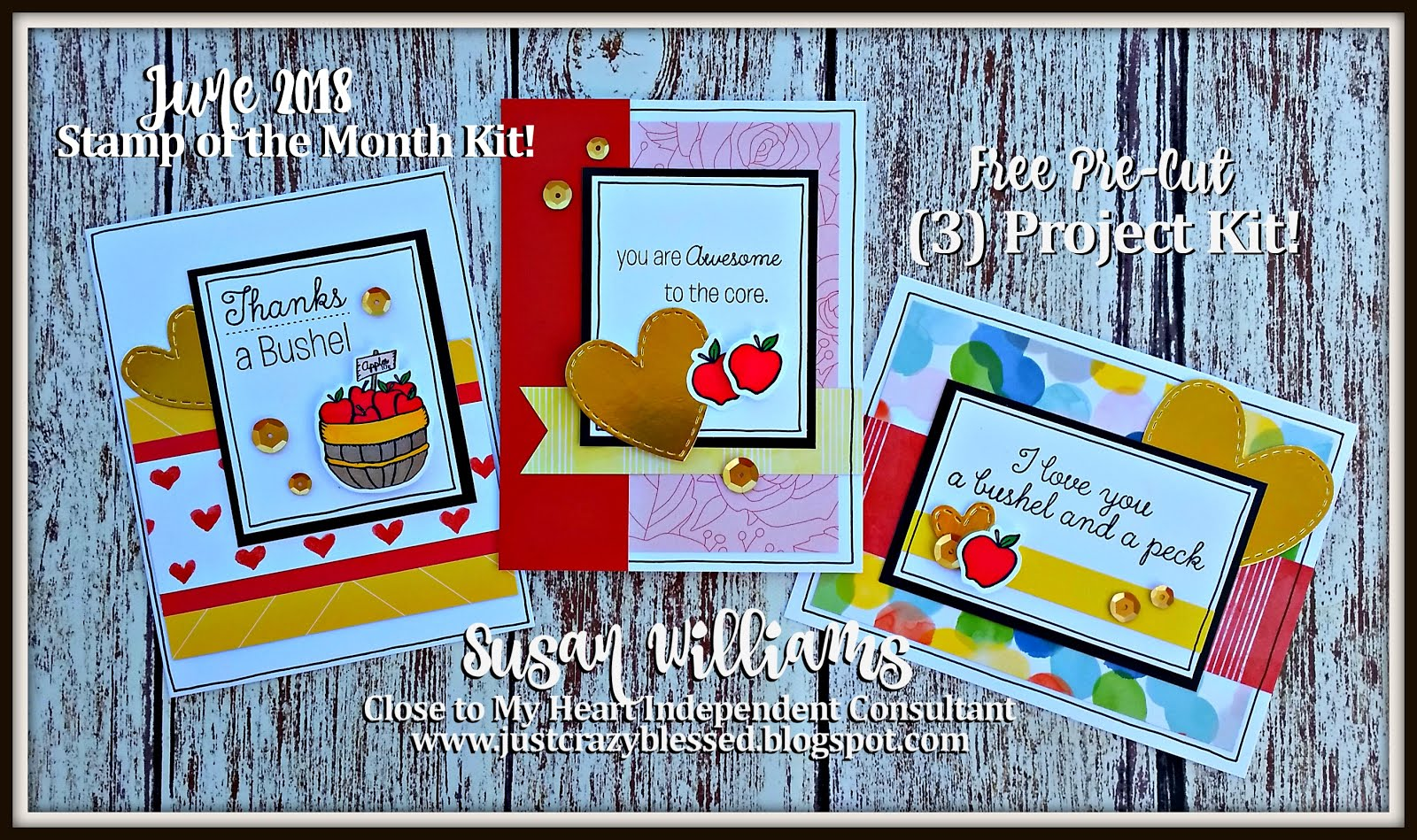June 2018 Stamp of the Month Kit!