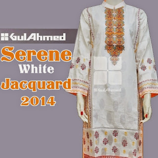 White Jacquard Ready To Wear 2014