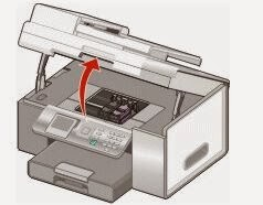 change cartridges for Lexmark printers